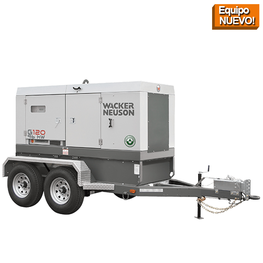 Wacker Neuson Punta Cana Generador Movil G120