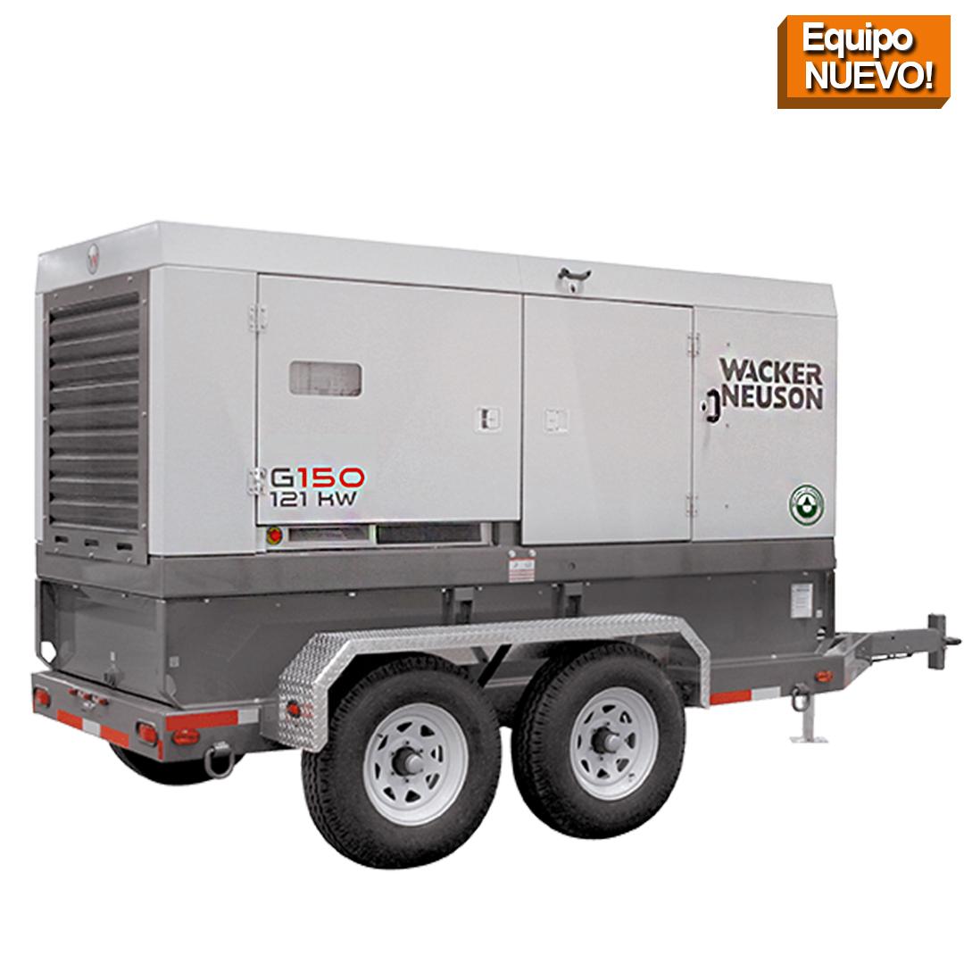 Wacker Neuson Punta Cana Generador Movil G150