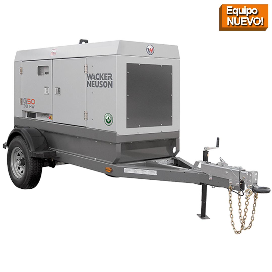 Wacker Neuson Punta Cana Generador Movil g50