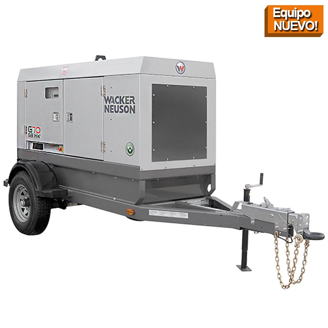 Wacker Neuson Punta Cana Generador Movil G70