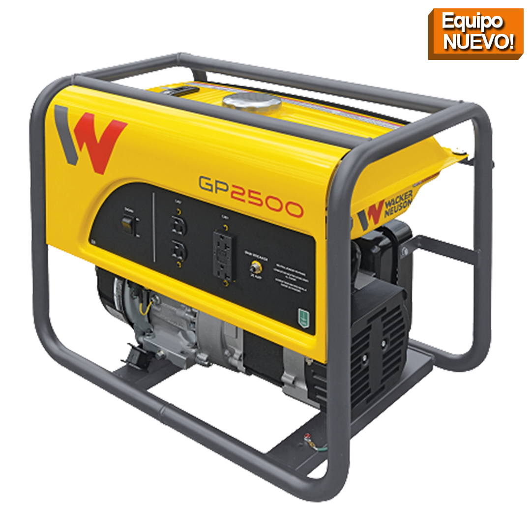 Wacker Neuson Punta Cana Generador portatil GP2500