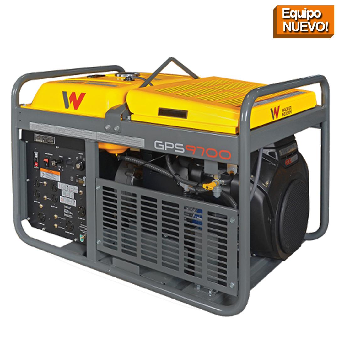 Wacker Neuson Punta Cana Generador portatil GPS9700