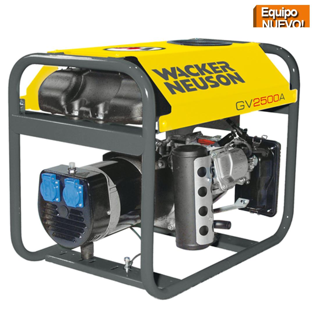 Wacker Neuson Punta Cana Generador portatil GV2500