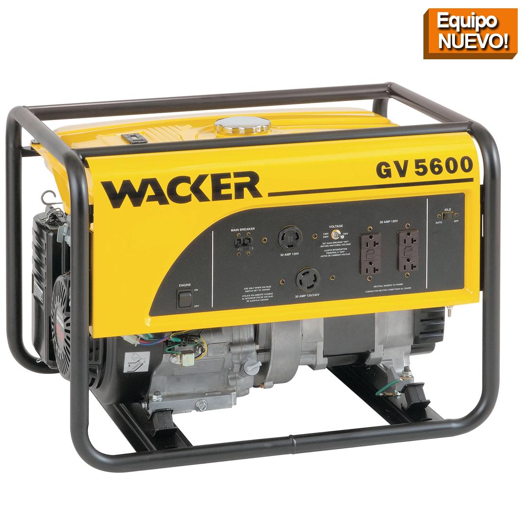 Wacker Neuson Punta Cana Generador portatil GV5600