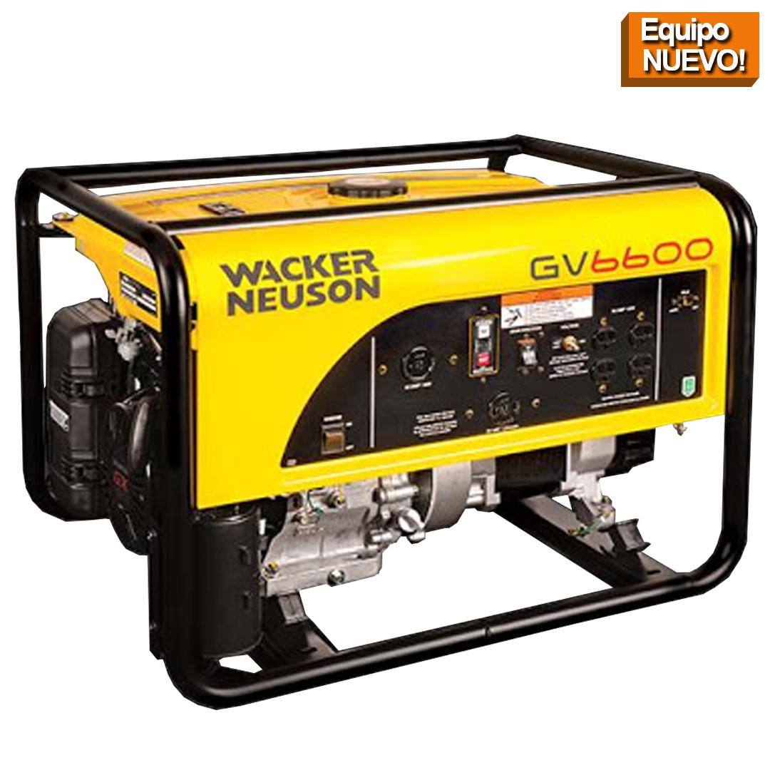 Wacker Neuson Punta Cana Generador portatil GV6600