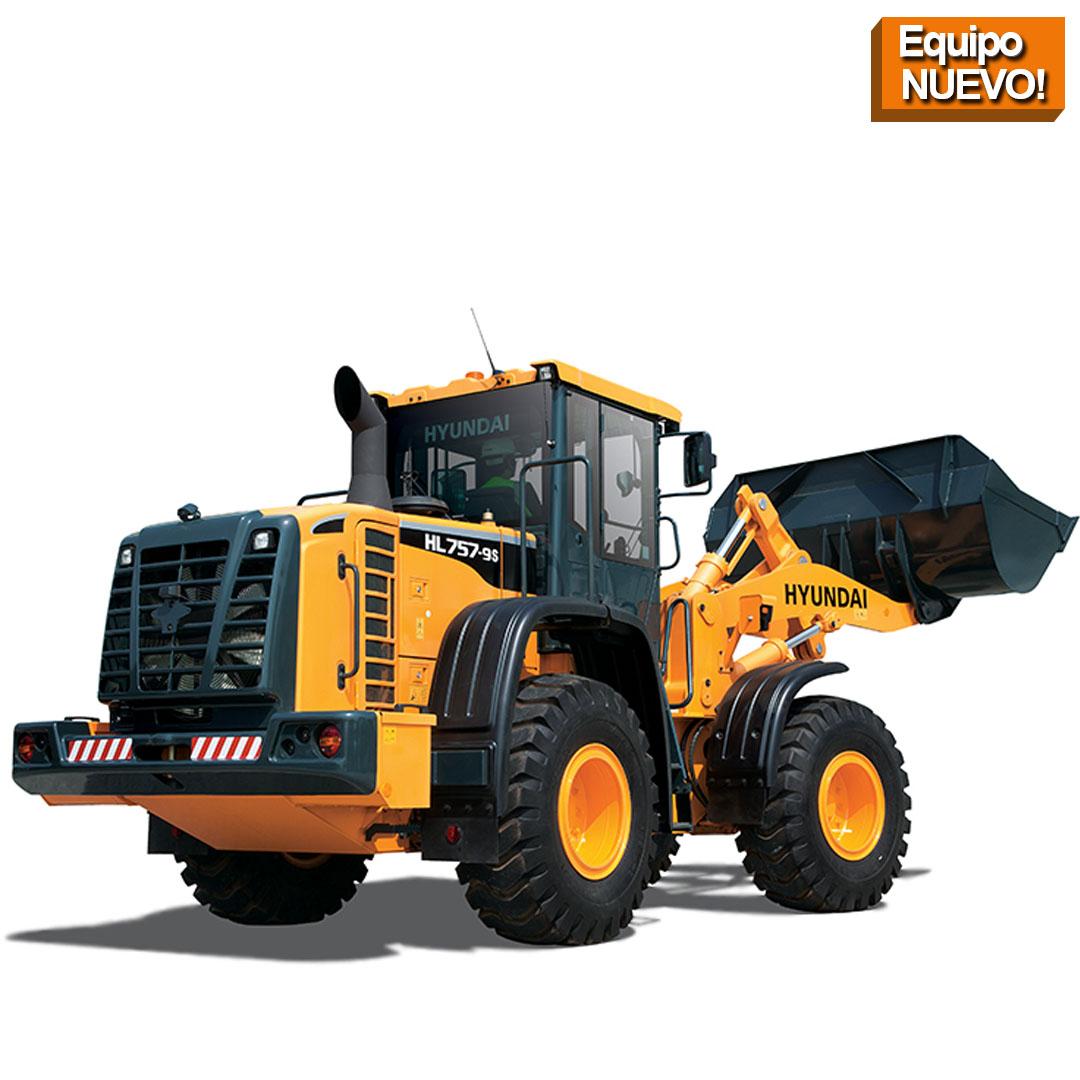 Cargadora HSL780 hyundai construction equitmen