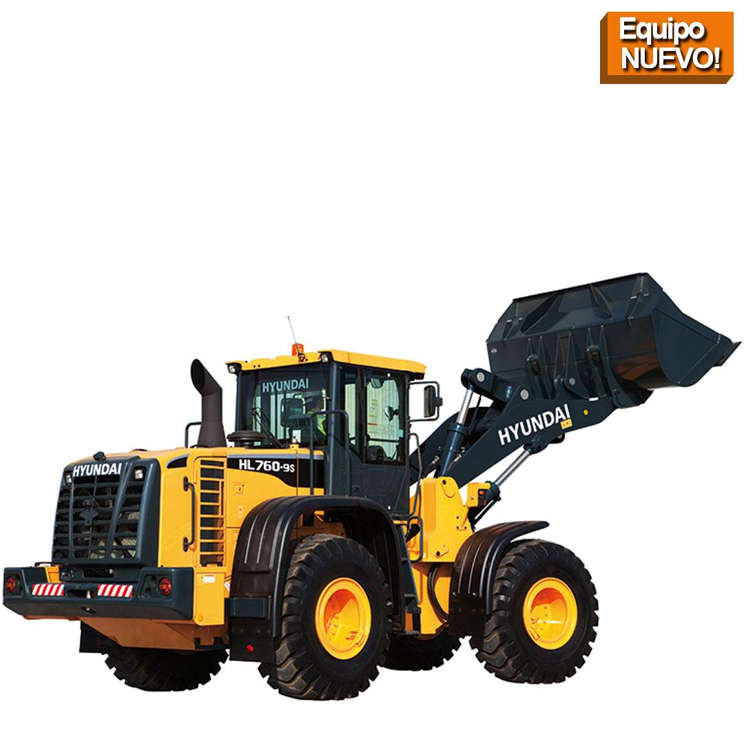 Cargadora HSL760 hyundai construction equitmen