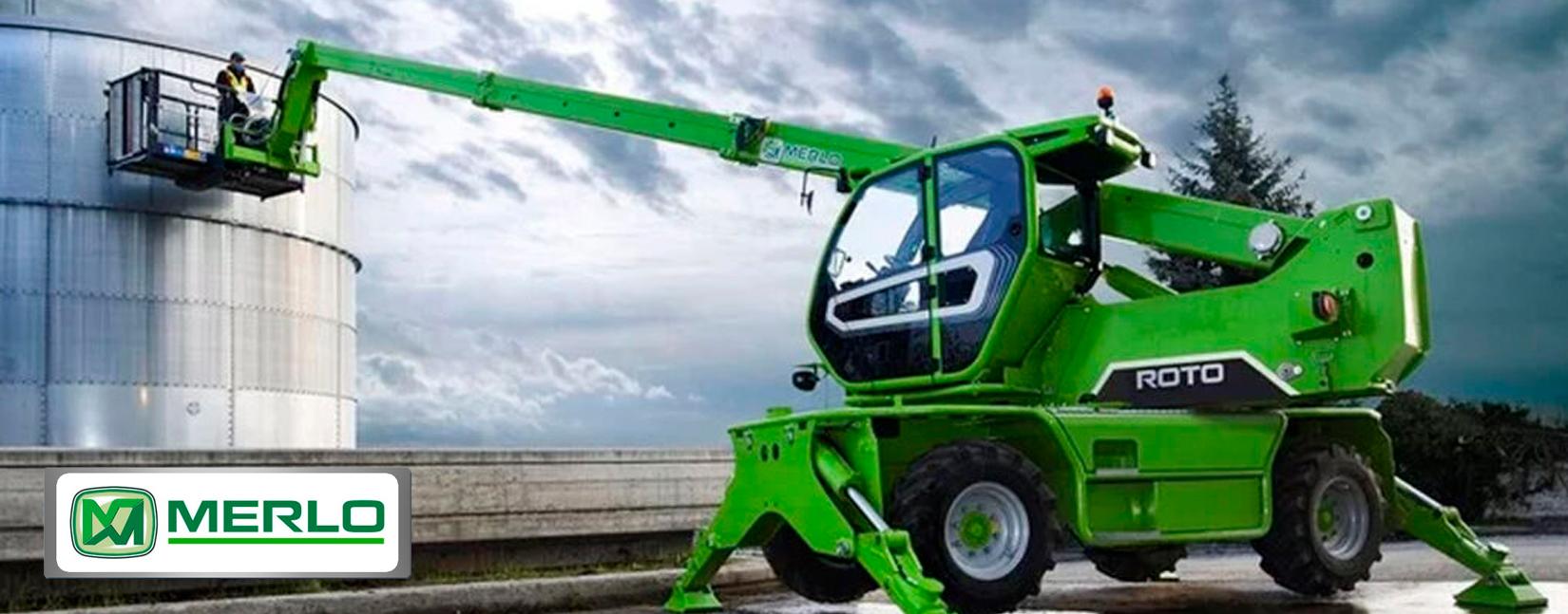 Merlo Truck equipos de construccion Republica Dominicana